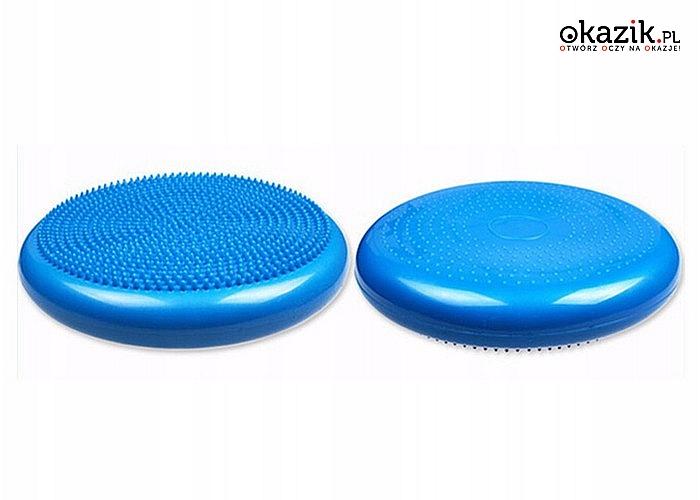 Zadbaj o swoje zdrowie w prosty sposób! Sensomotoryczna poduszka rehabilitacyjna Balance Disc!