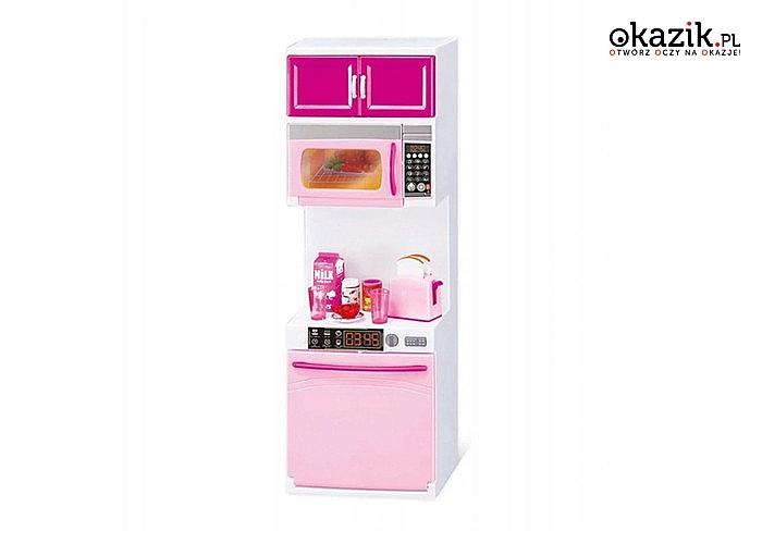 Zestaw kuchenny dla lalek! Idealna zabawka dla dziewczynek!