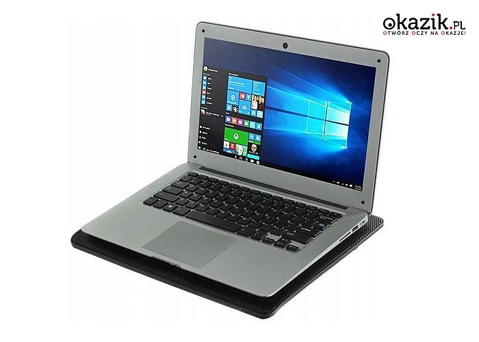 Podstawka pod laptopa to przede wszystkim nowoczesny wygląd, stabilna konstrukcja oraz wydajny system wentylatorów