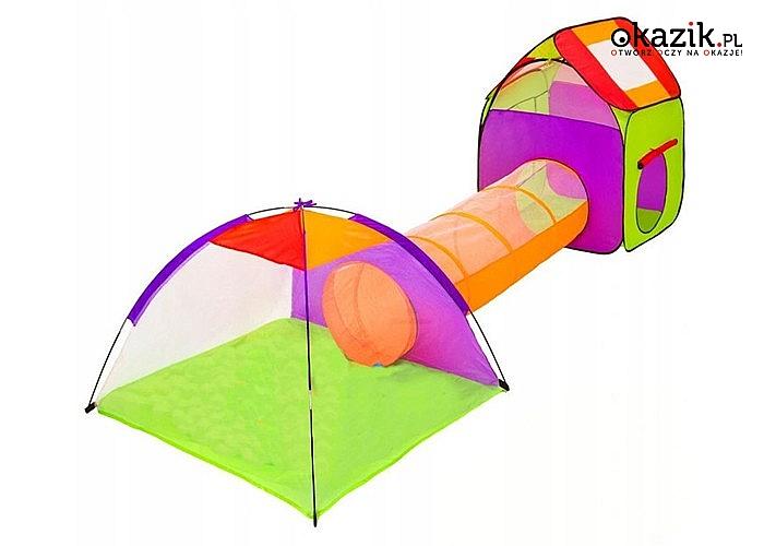 Namiot – tunel dla dzieci! Idealny pomysł na prezent! Możliwość dowolnej konfiguracji!
