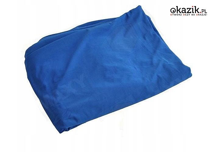 Szybko schnący ręcznik plażowy ramiączkami, spełniający rolę pareo oraz sukienki
