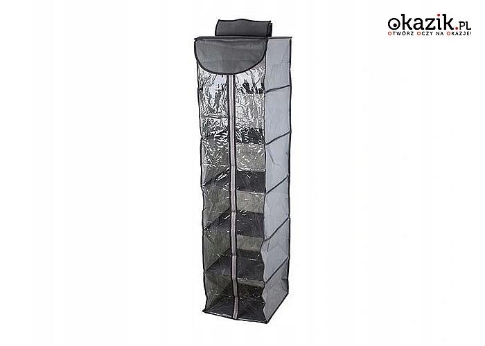 Wisząca półka skutecznie pozwoli Ci zaoszczędzić miejsca w szafie