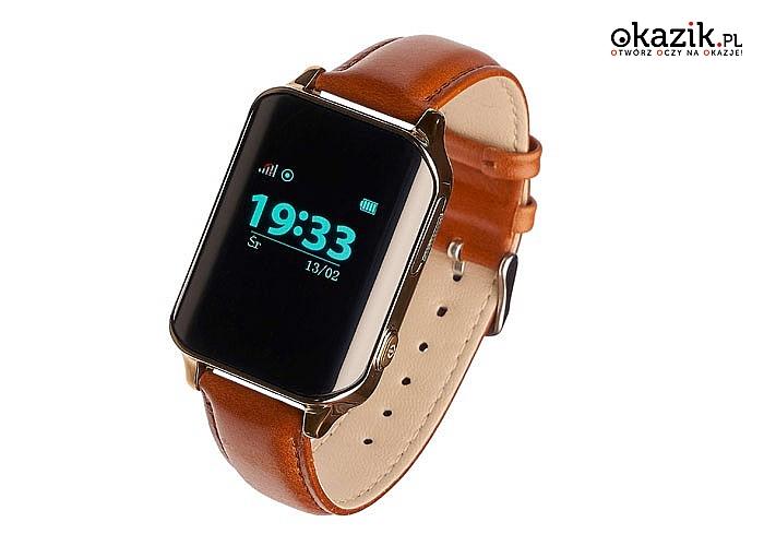 Smartwatch w klasycznym wydaniu! Garett GPS Classic! Idealny dla seniorów! Zbudowany w trosce o zdrowie!