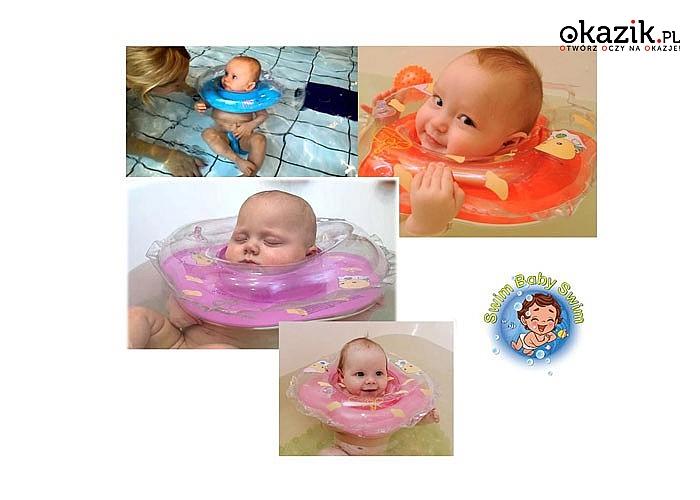 Rewolucja w kąpieli niemowląt - dmuchany kołnierz zapewni bezpieczeństwo podczas aktywności niemowląt w wodzie