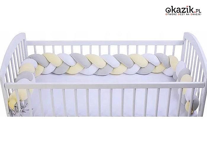 Zapewni bezpieczeństwo Twojemu dziecku podczas snu i dodatkowo nada wnętrzu przytulny i niepowtarzalny charakter