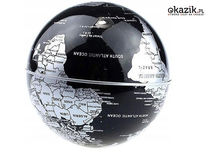 Lewitujący globus to wspaniały pomysł na prezent nie tylko dla podróżników, ale dla każdego
