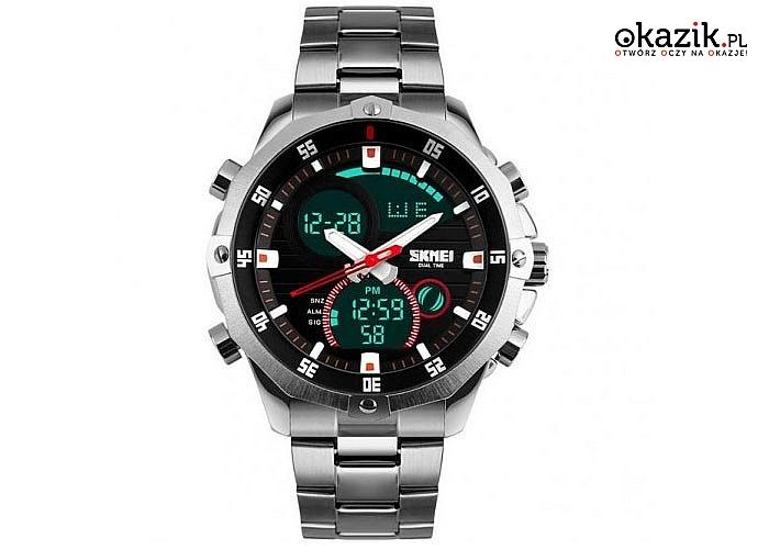 Oryginalny zegarek firmy SKMEI- idealny designerski model dla każdego