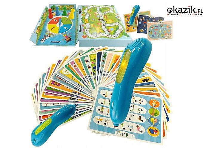 Świetna zabawa dla Twojego dziecka! Mówiące pióro – 1000 pytań dla przedszkolaka! Clementoni!