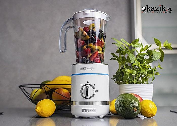Blender Sport Mix & Fit SB2100 X-LINE to idealny produkt dla ludzi aktywnych i ceniących zdrowy styl życia