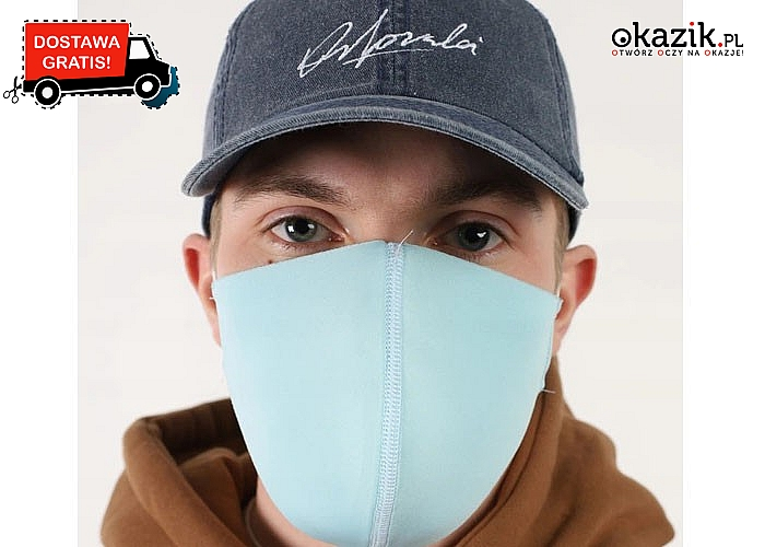Maseczki poliuretanowe są bardzo wygodnym sposobem ochrony twarzy i dróg oddechowych