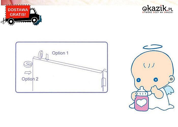Zadbaj o bezpieczeństwo swojego dziecka! Zapobiegaj przytrzaśnięciu palców! Ochronne uchwyty na drzwi!