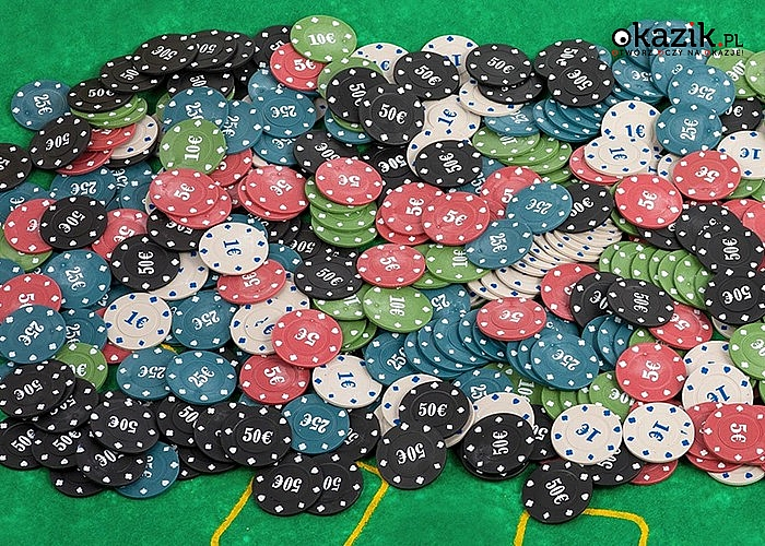 Zestaw do gry w pokera! 500 żetonów, 2 talie kart oraz mata w zestawie!