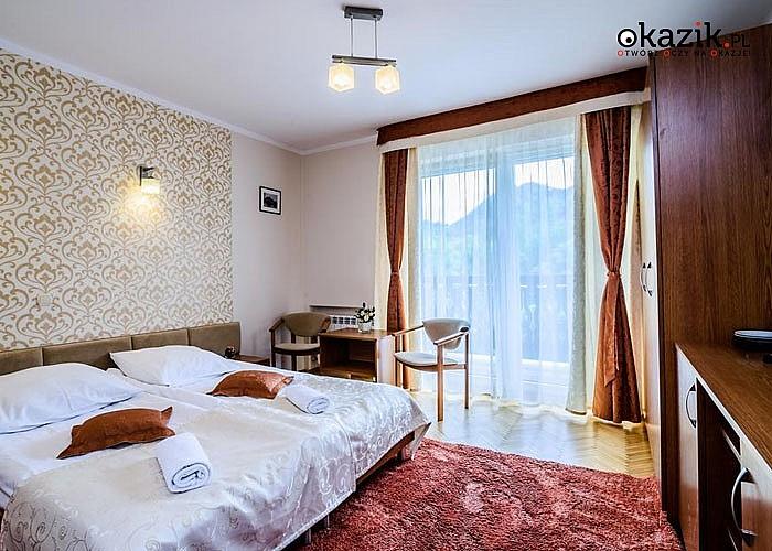 Chwila relaksu dla seniora w Hotelu Smile w Szczawnicy