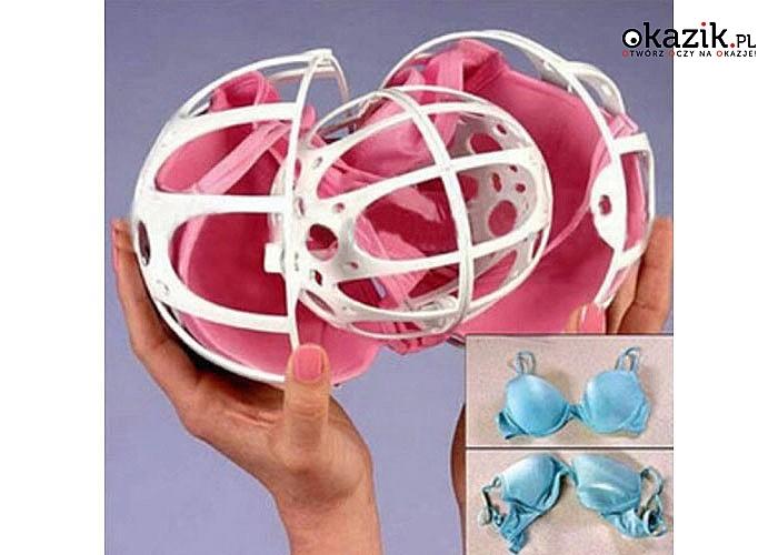 Bubble Bra to rewolucyjna metoda prania biustonoszy bez zmiany kształtu, rozdarć