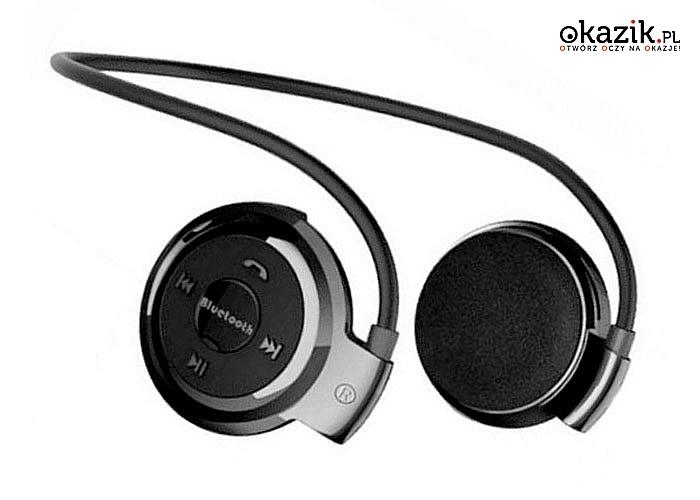 Słuchawki bezprzewodowe nauszne uprzyjemnią trening każdej aktywnej osobie