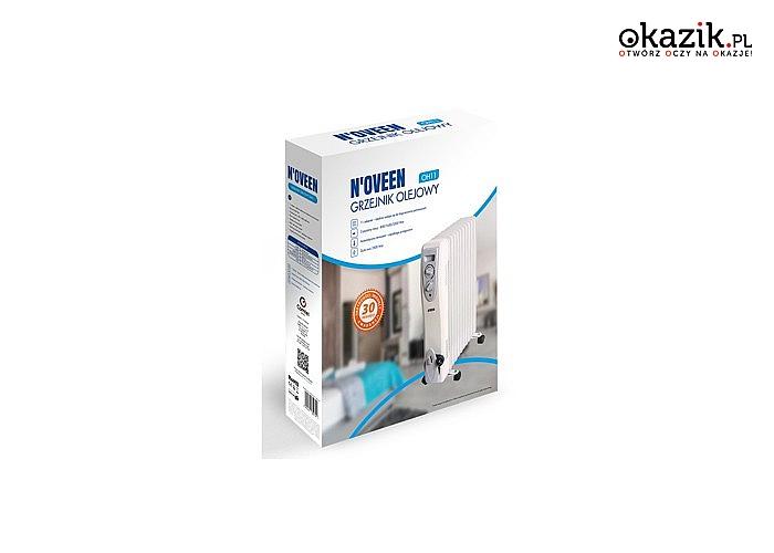 Grzejnik olejowy N'oveen! 3 modele do wyboru! Idealny do każdego rodzaju pomieszczeń! Regulacja mocy!