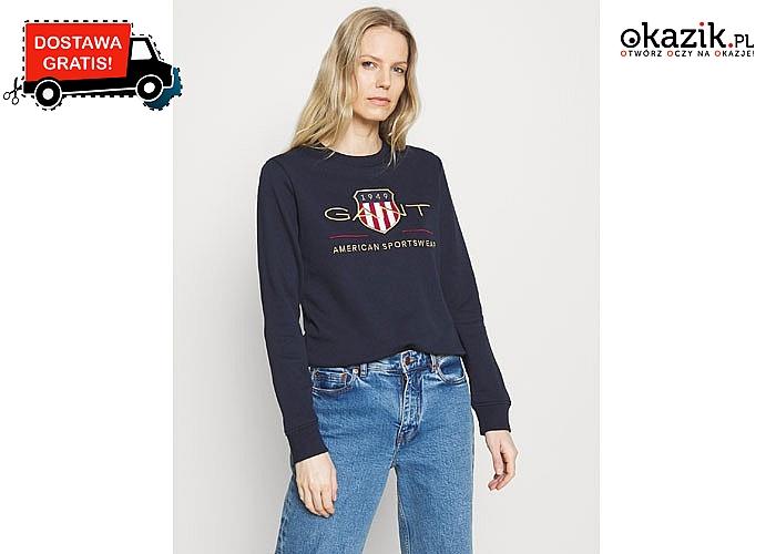 Ciepła, przyjemna w dotyku i przede wszystkim stylowa  bluza damska Gant