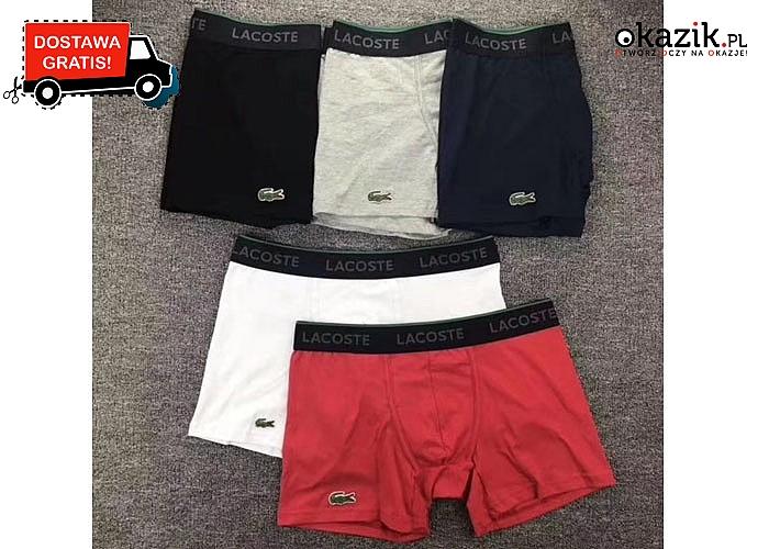 Na co dzień lub do sportowych aktywności, obcisłe bokserki logo Lacoste zapewniają swobodę ruchów oraz komfort noszenia