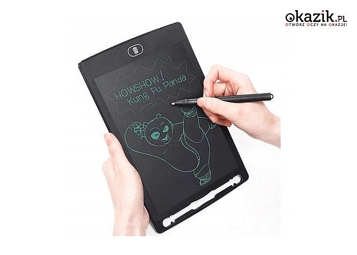Tablet graficzny znikopis – rysujesz zmazujesz i od nowa zabawa
