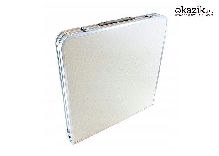 Lekki aluminiowy zestaw kempingowy w nowoczesnym stylu jest idealny na wakacje, podróże lub kempingi