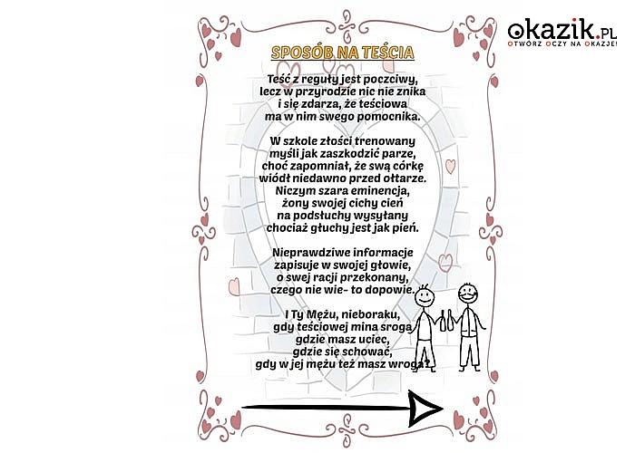Spersonalizowany poradnik małżeński pomysł na niebanalny prezent