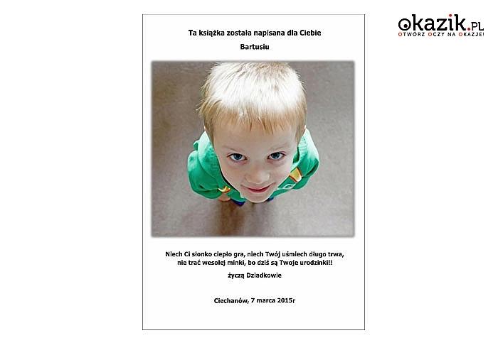 Uczyń dziecko bohaterem personalizowanej bajki- wyjątkowy prezent na urodziny