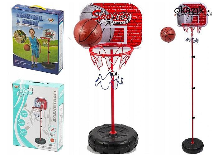Zadbaj o zdrowe zwyczaje swojego dziecka! Mobilny zestaw do koszykówki!