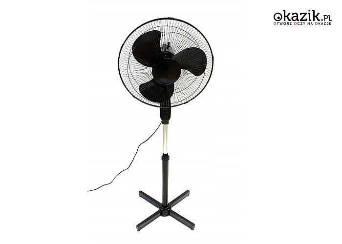 Lato to czas upałów, wentylator to doskonała alternatywa do pomieszczeń w których brakuje klimatyzacji