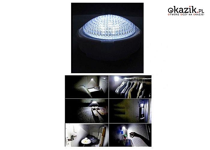 Lampka dotykowa z pilotem to idealne źródło światła w zaciemnionym miejscu