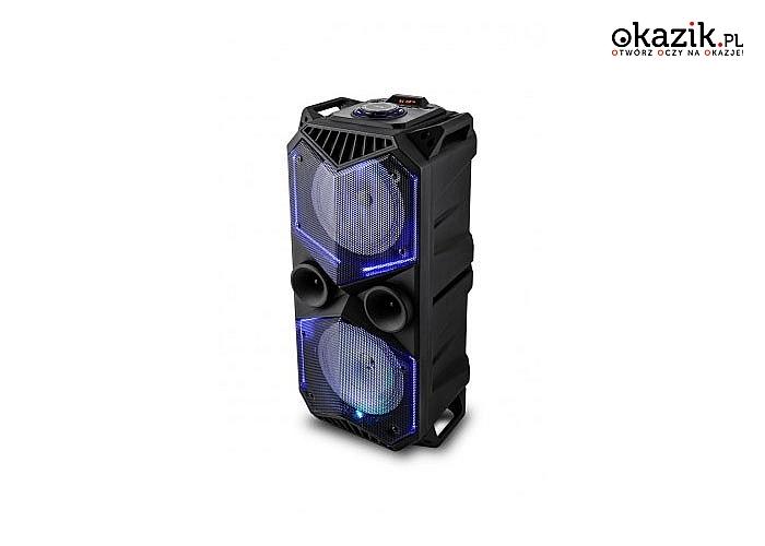 Bezprzewodowy Głośnik przenośny VK 5100 bluetooth Voice Kraft. Czysty dźwięk