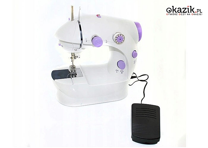 Mini maszyna do szycia to rewelacyjne urządzenie do szybkich i łatwych przeróbek