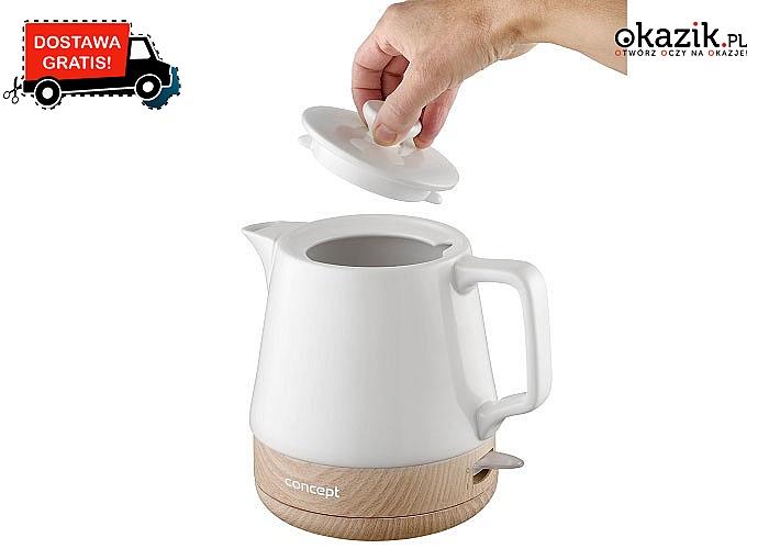 Ceramiczny czajnik elektryczny to ponadczasowy dodatek do kuchni