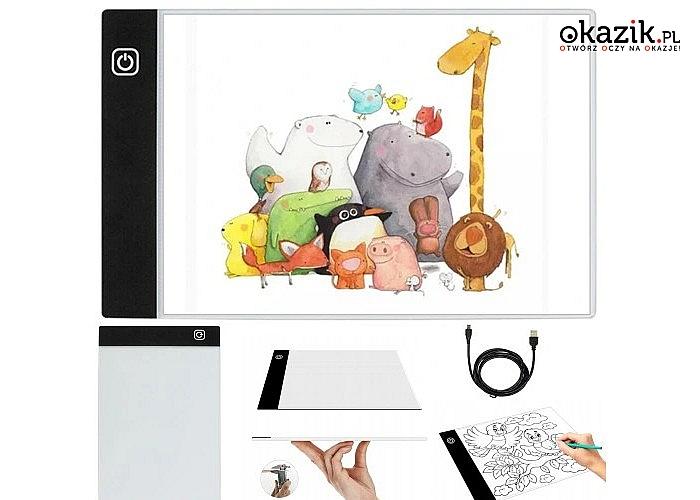 Deska kreślarska świetny pomysł na prezent dla osób lubiących hobbystycznie rysować