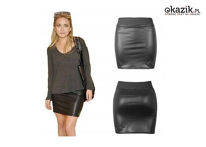 Mini spódniczka lateksowa pięknie przylegająca do ciała podkreśli Twoją figurę i wyeksponuje Twoje kobiece walory