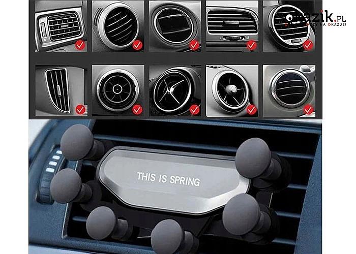 Wielofunkcyjny uchwyt grawitacyjny na telefonu do samochodu