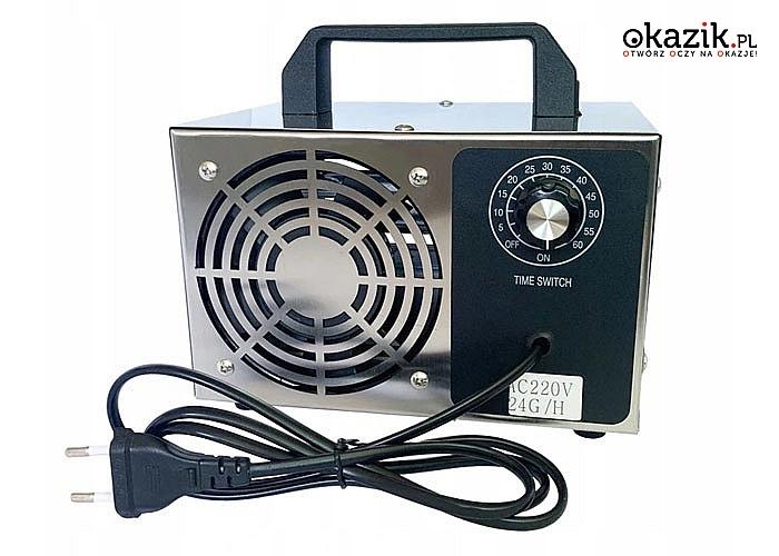 Generator ozonu to niezbędne urządzenie służące do oczyszczania i odświeżania powietrza