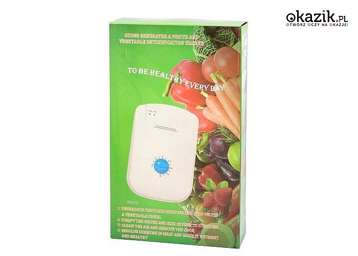 Generator ozonu! 400mg/h! Zadbaj o zdrowe, czyste i pozbawione nieprzyjemnych zapachów powietrze!