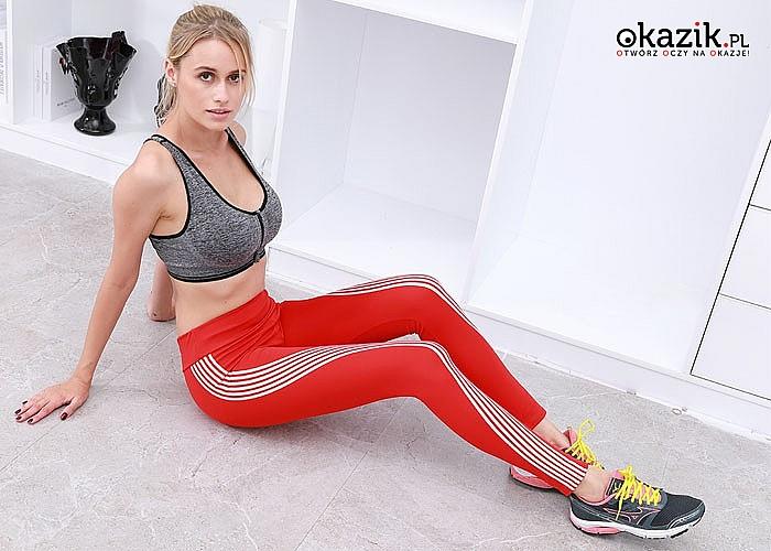 Sportowe legginsy zapewnią wygodę i swobodę ruchu podczas każdej aktywności