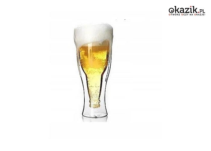 Termiczne szklanki pozwolą cieszyć się ulubionym, zimnym piwem w nowoczesnym i bardzo ciekawym sposobie podania