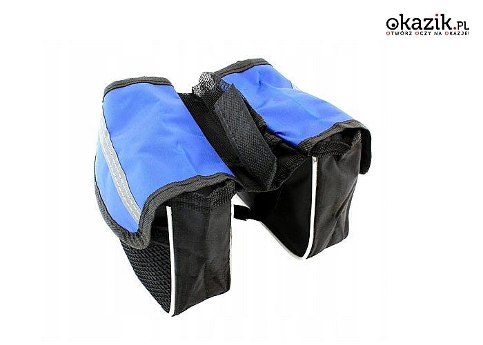 Sakwa zakładana na bagażnik to świetny pomysł na prezent dla każdego amatora dwóch kółek