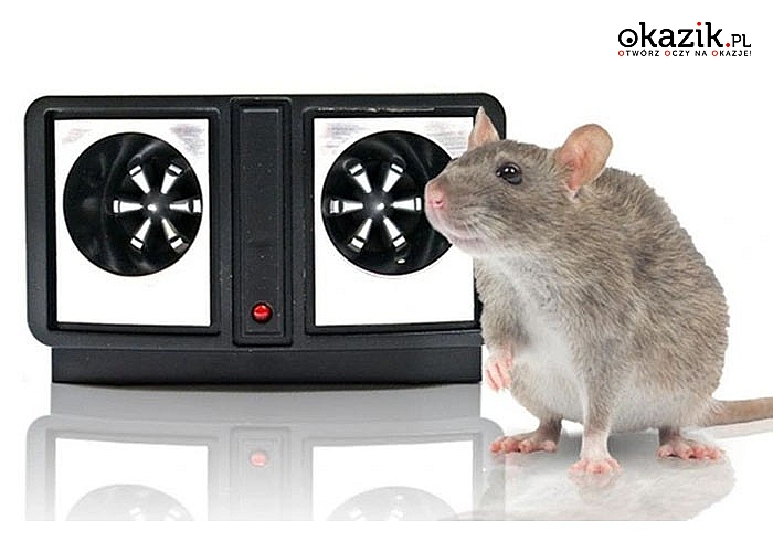 Ultradźwiękowy odstraszacz na wszelkie owady w tym: karaluchy, szczury, komary, mrówki, myszy, muchy, pająki, mole itp.