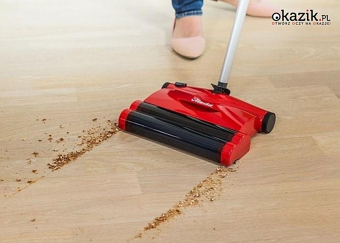 Szczotka elektryczna Vileda sprawi, że codzienne sprzątanie stanie się przyjemniejsze