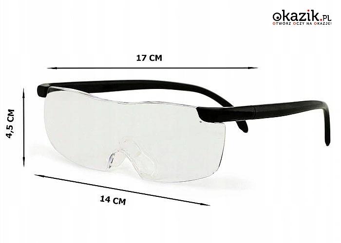 Okulary powiększające idealne do wymagających precyzji zadań
