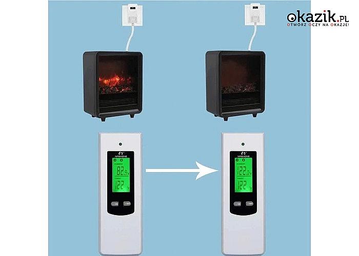 Cyfrowy termostat do regulacji temperatury! Pilot w zestawie! 230V!