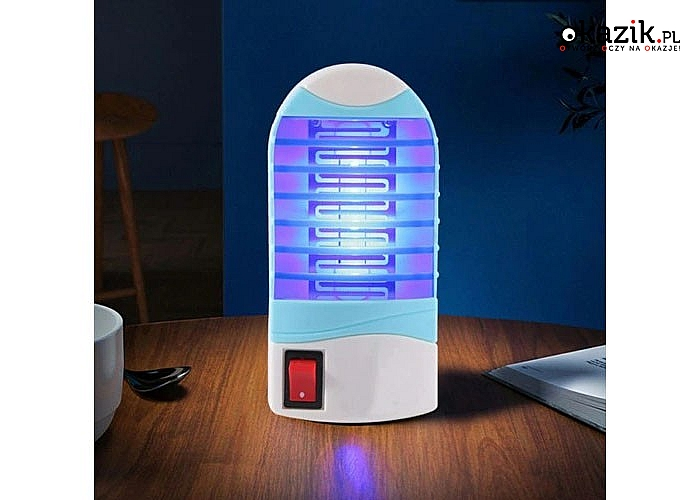 Lampa owadobójcza idealna wszędzie tam, gdzie obecność owadów latających jest niemile widziana
