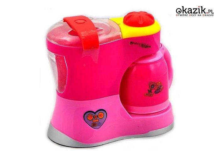Zestaw akcesoriów kuchennych dla dzieci jest idealnym dopełnieniem dla kuchni maluszka