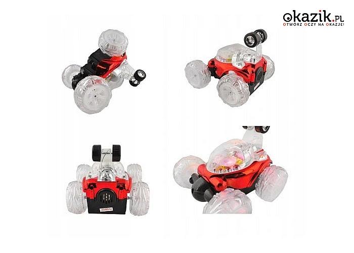 Niesamowity samochód Twister akrobacje, zawrotna prędkość i wielkie emocje gwarantowane