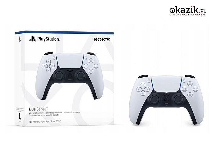 Bezprzewodowy kontroler DualSense do konsoli PS5 oferuje realistyczne efekty