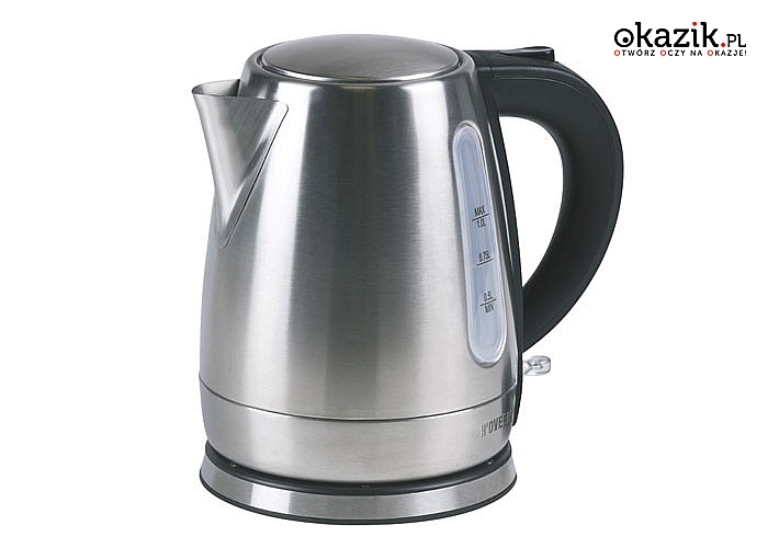 Wysokiej jakości czajnik elektryczny ze szlachetnej stali nierdzewnej