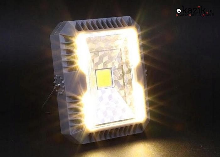 Bezprzewodowa lampa solarna. Niezastąpiona w plenerze, na biwaku, w domu, w warsztacie, w piwnicy